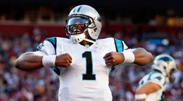 Carolina Panthers Quarterback, Cam Newton.
