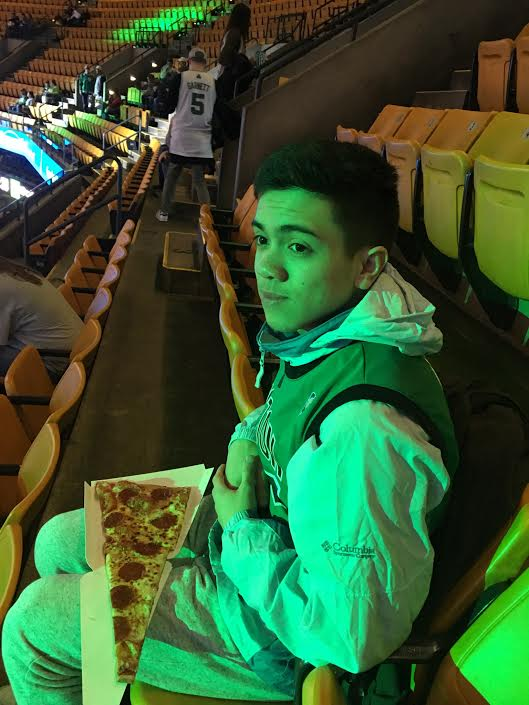 celtics pizza
