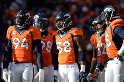Denver Broncos Defensive Unit