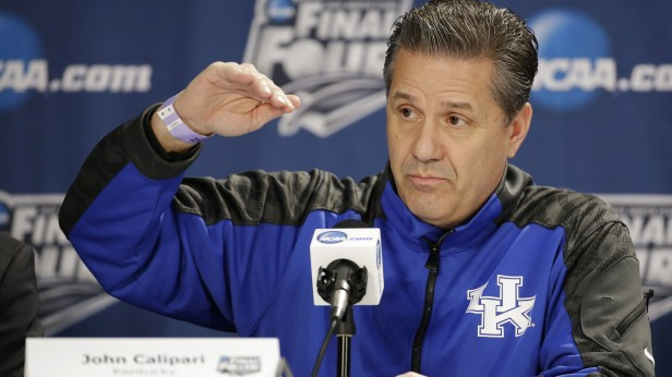 Kentucky Head Coach, John Calipari.
