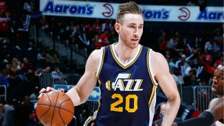 Utah Jazz Forward, Gordon Hayward.